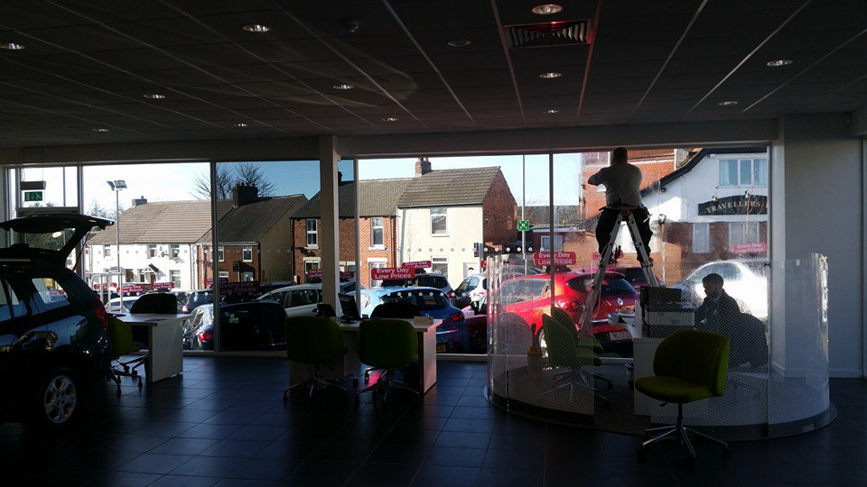 Evans Halshaw Showroom - Techfit UK